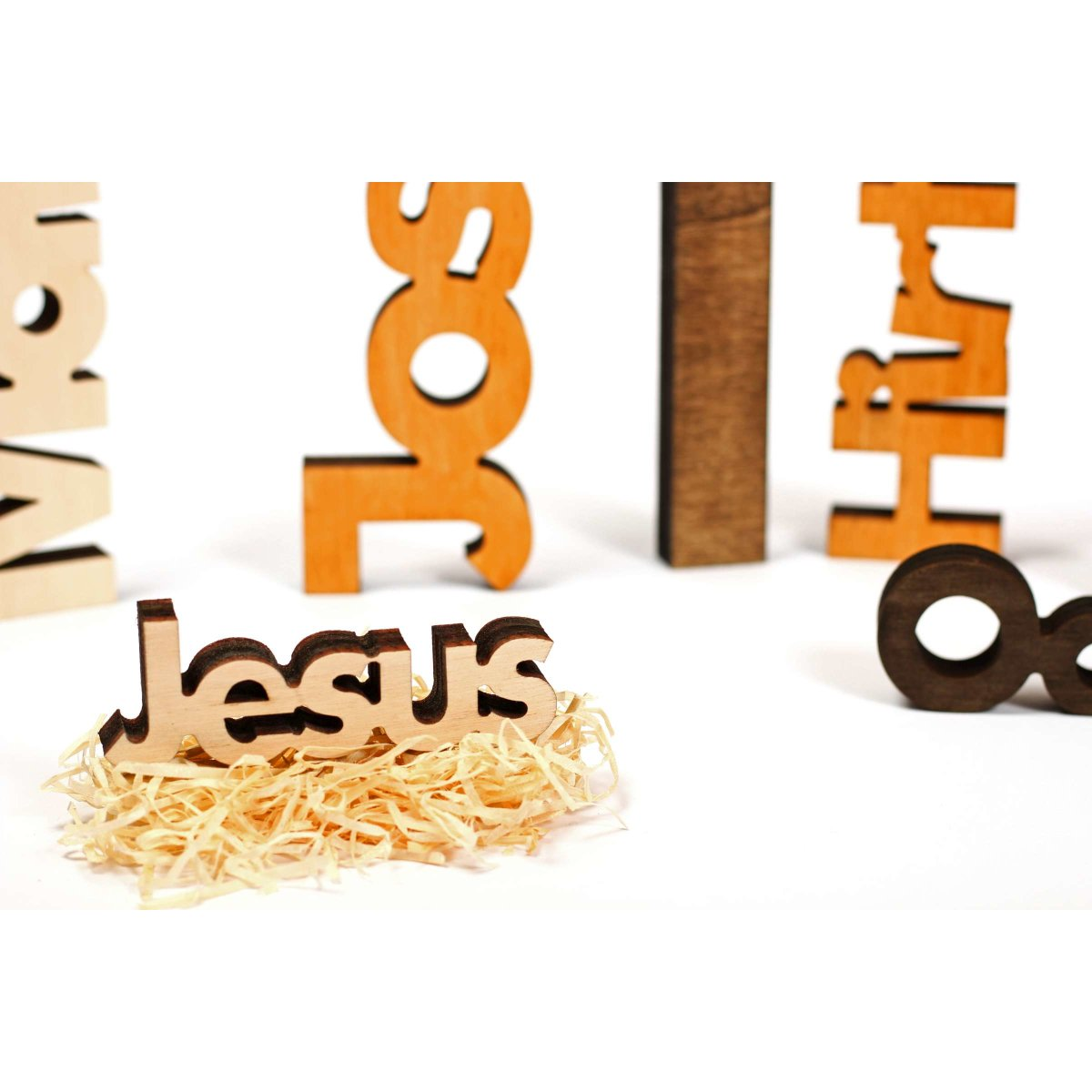 Moderne Weihnachtskrippe.Moderne Weihnachtskrippe 11 Teilig Holz Farbig Geölt Puristisch Rustikal Exklusiv Made In Tirol Xl